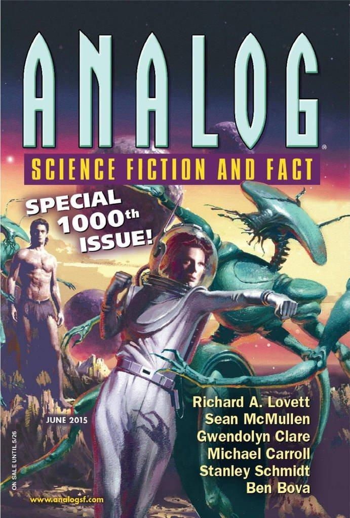 Analog Science Fiction and Fact Magazine Cover