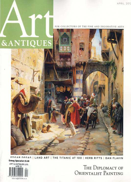 Art & Antiques Magazine Cover