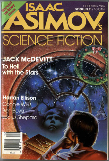 Asimov's Science Fiction Magazine Cover