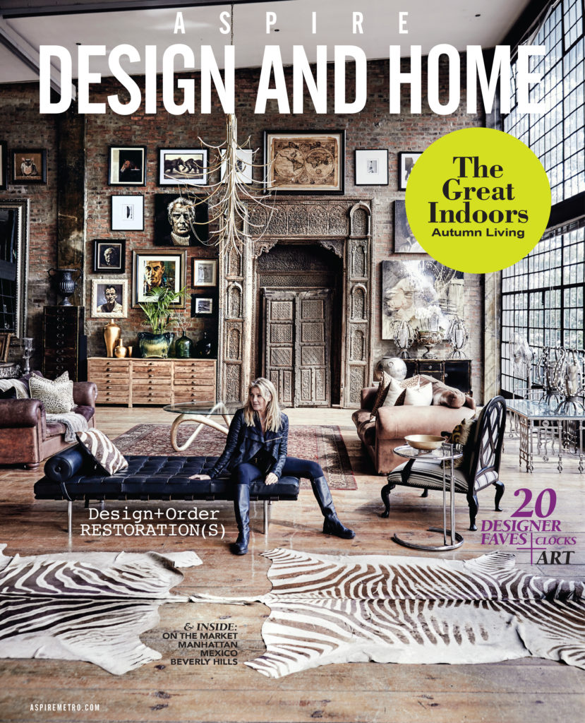 Aspire Design and Home Magazine Cover