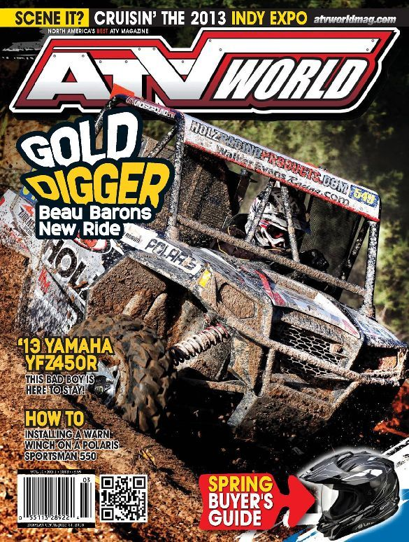ATV World Magazine Cover