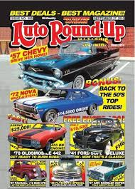 Auto Round-up Magazine Cover