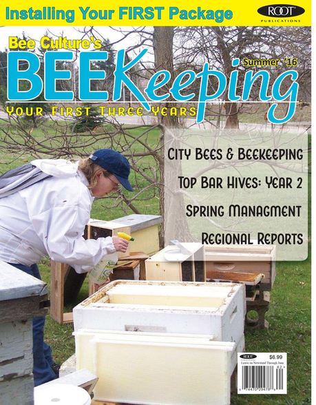 BEEKeeping Your First 3 Years Magazine Cover