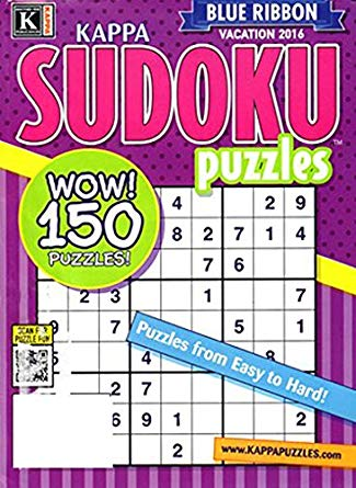 Blue Ribbon Sudoku Collection Magazine Cover