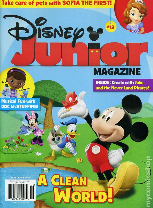 Disney Junior Magazine Cover