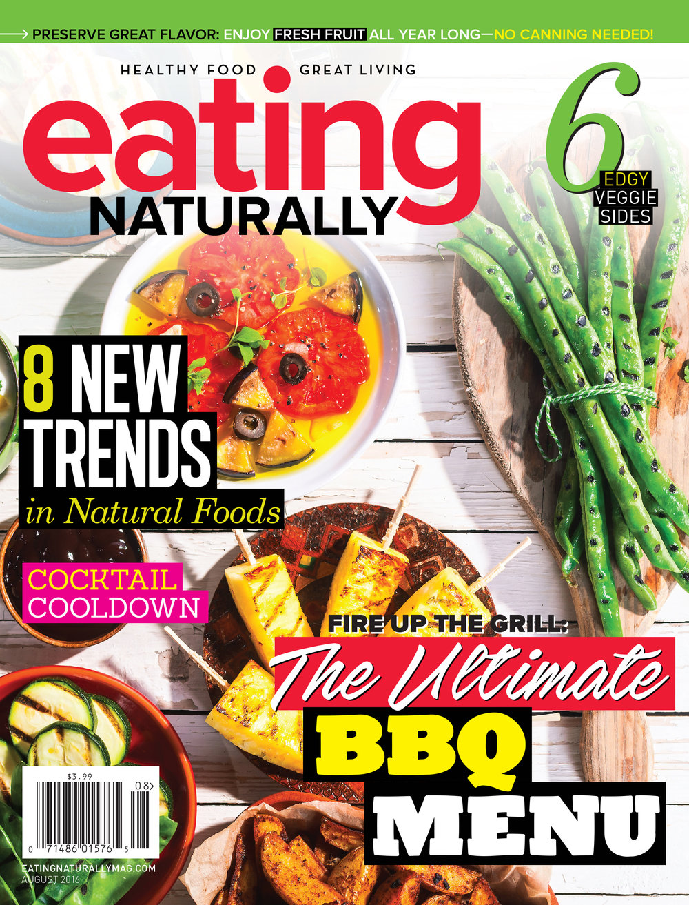 Eating Naturally Magazine Cover