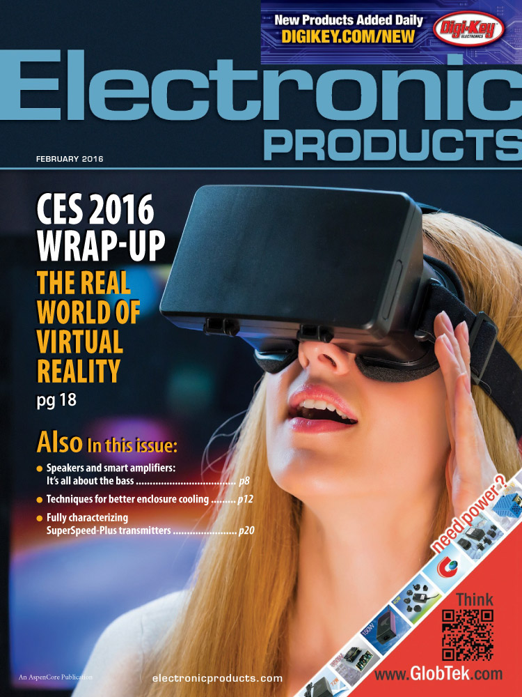 Electronic Products Magazine Cover