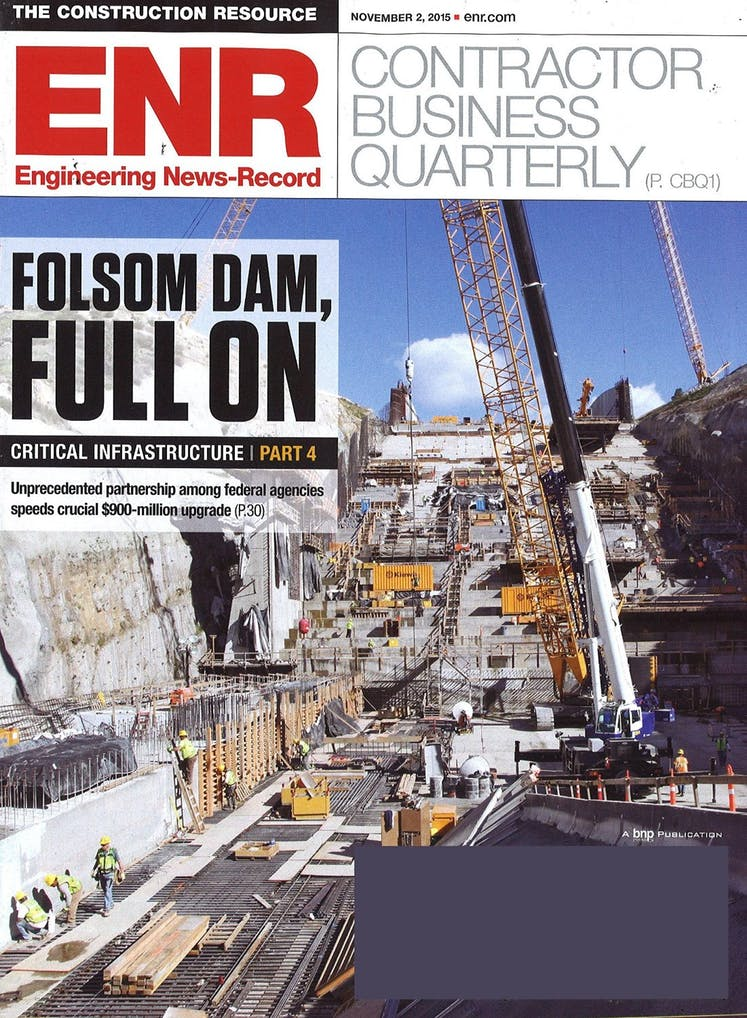 Engineering News Record (ENR) Cover