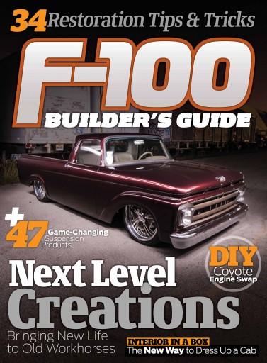 F100 Builder's Guide Magazine Cover