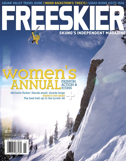 Freeskier Magazine Cover