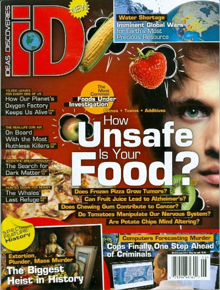 iD Ideas and Discoveries Magazine Cover