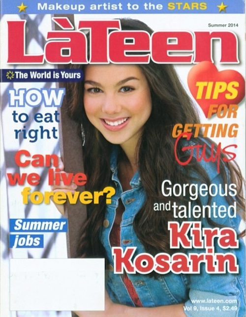 La Teen Magazine Cover