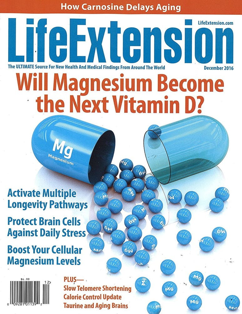 Life Extension Magazine Cover