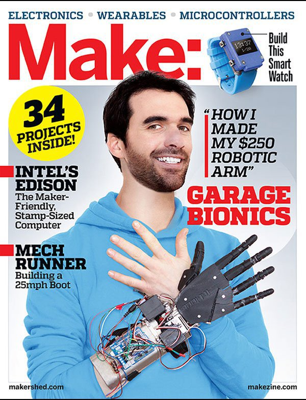 MAKE (Technology on Your Time) Magazine Cover
