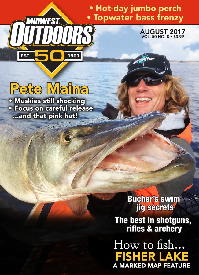 Midwest Outdoors Magazine Cover