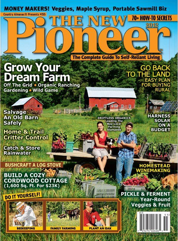 New Pioneer Magazine Cover