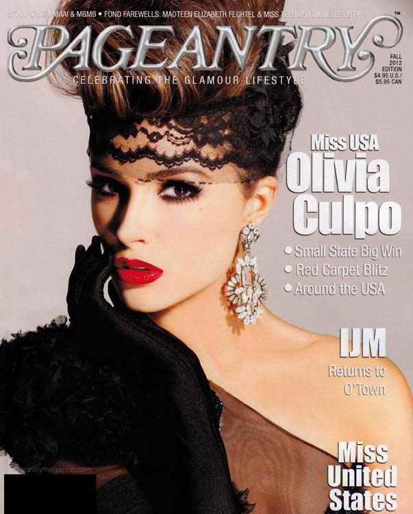 Pageantry Magazine Cover