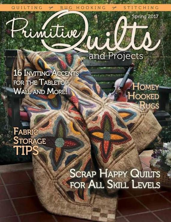 Primitive Quilts and Projects Magazine Cover