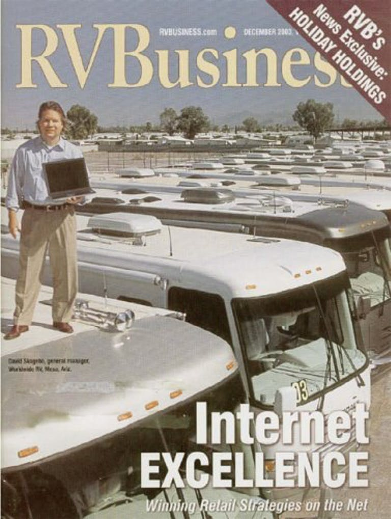 RV Business Magazine Cover