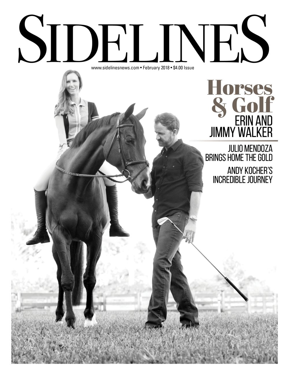 Sidelines Magazine Cover