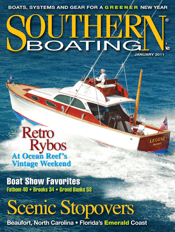Southern Boating Magazine Cover