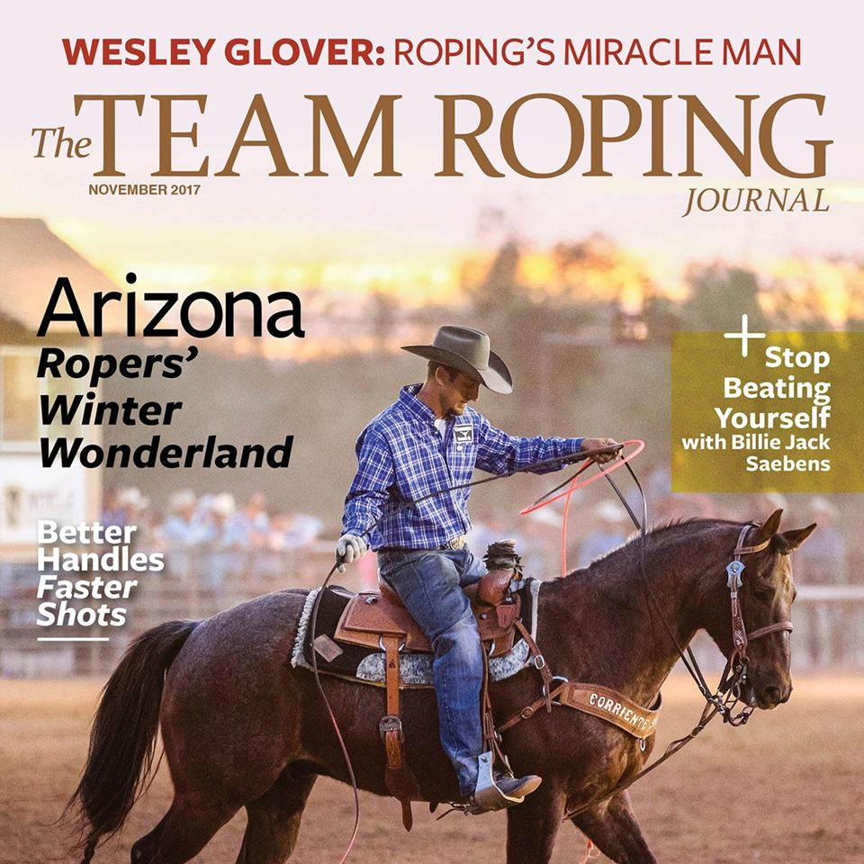 Team Roping Journal Magazine Cover