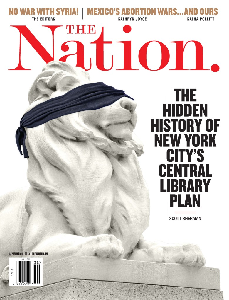 The Nation Magazine Cover