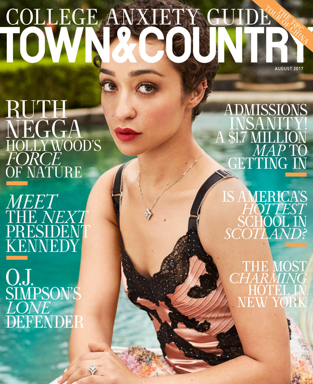 Town & Country Magazine Cover